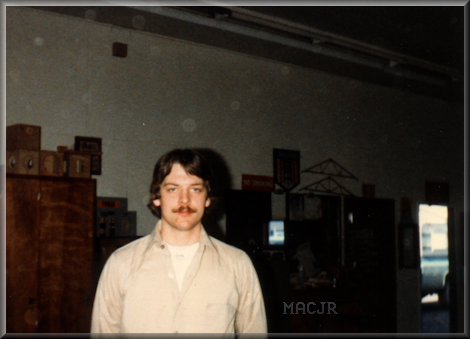 MACJR in the Angell Job Corps Carpentry Shop - 1982