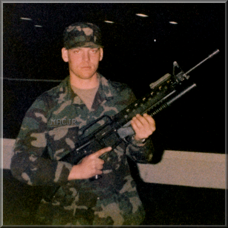 MACJR in ARMY Infantry Basic Training - Fort Benning, Georgia - 1983