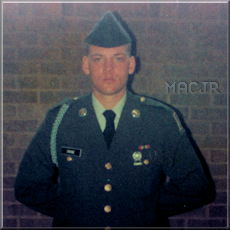 MACJR in Dress Uniform - Fort Benning, Georgia - 1983