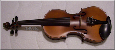MACJR'S Violin - September 2016
